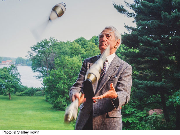 Claude Shannon: Serious Scientist Accomplished Juggler
