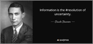 Claude Shannon quote