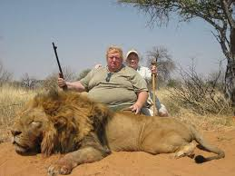 Fat Ass Tiny penis Killer And The Noble Lion Whose Life He Ended