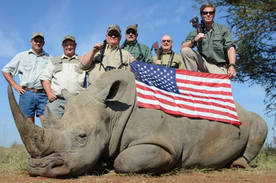 Ugly American Murder Beautiful Rhino