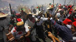 Mexican army Defeats army of Napoleon III