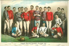 English Football Vintage Picture