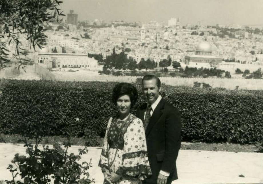 John and Dodie Osteen In Israel